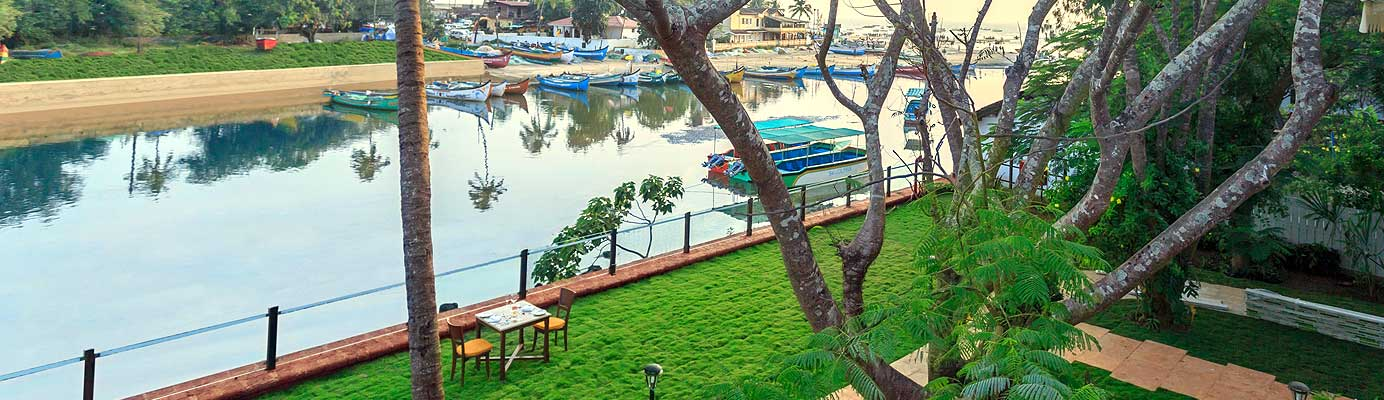 Resort near Baga River