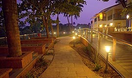 Way to Acron Waterfront Resort in Goa